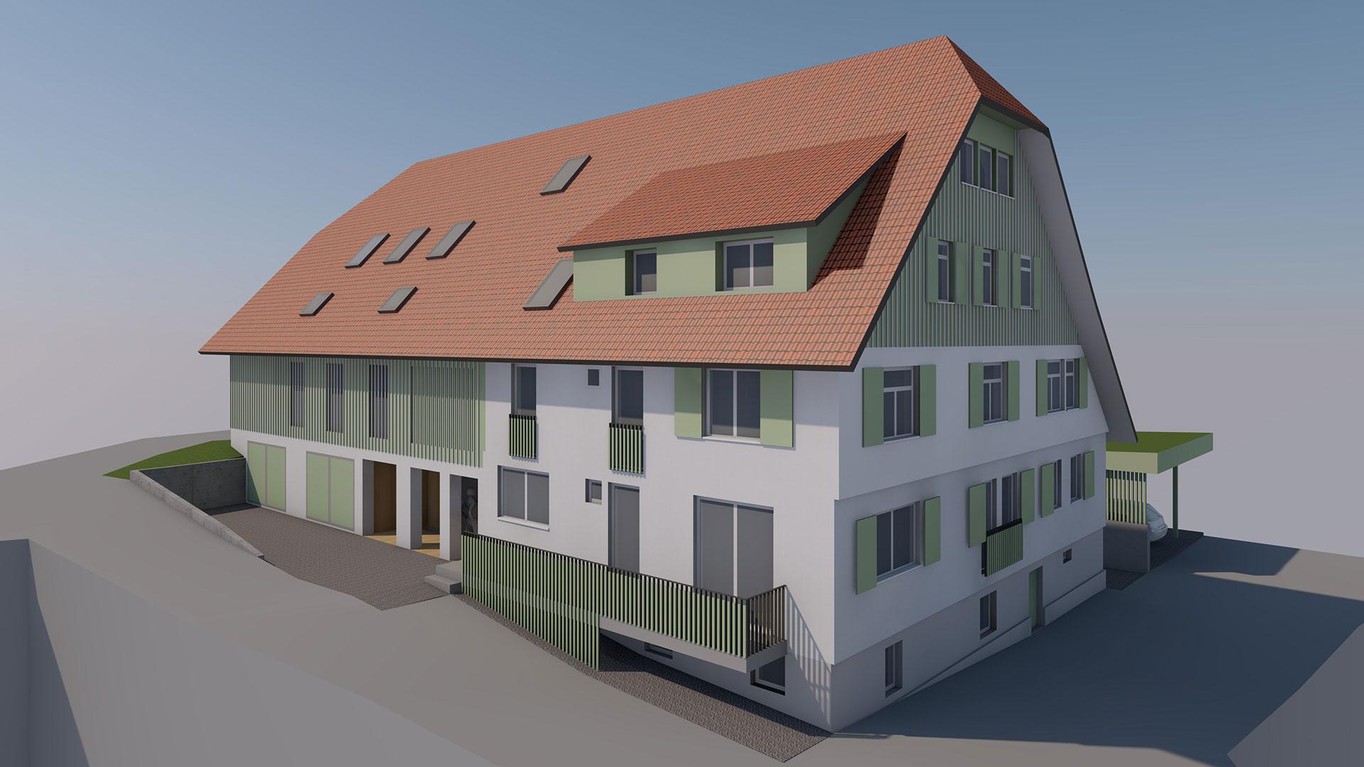 Die Holzbauingenieure Referenz Fehrenbacherhof